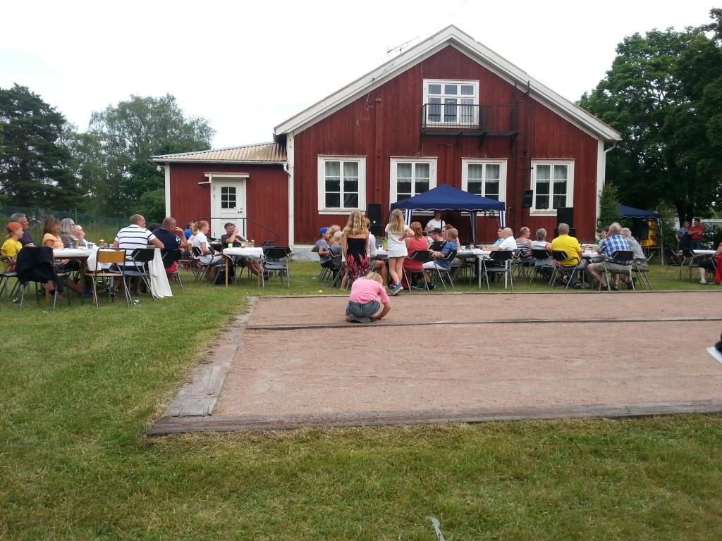 Nybble med omnejds grillfest 2014