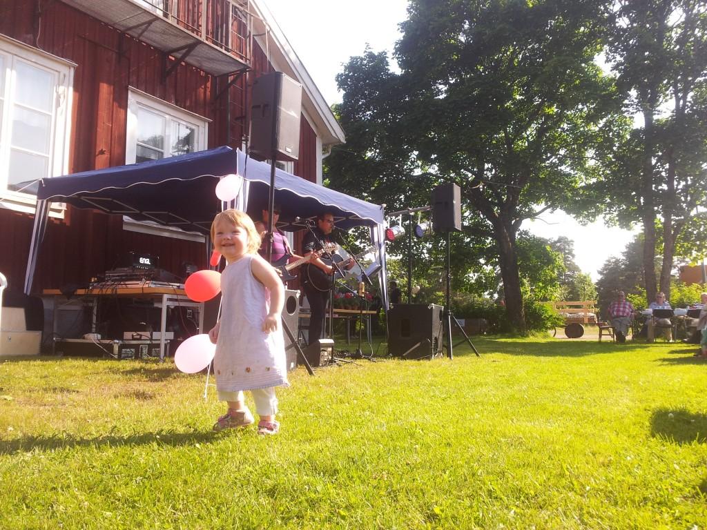 Nybble Grillfest 2013 - dans för alla åldrar