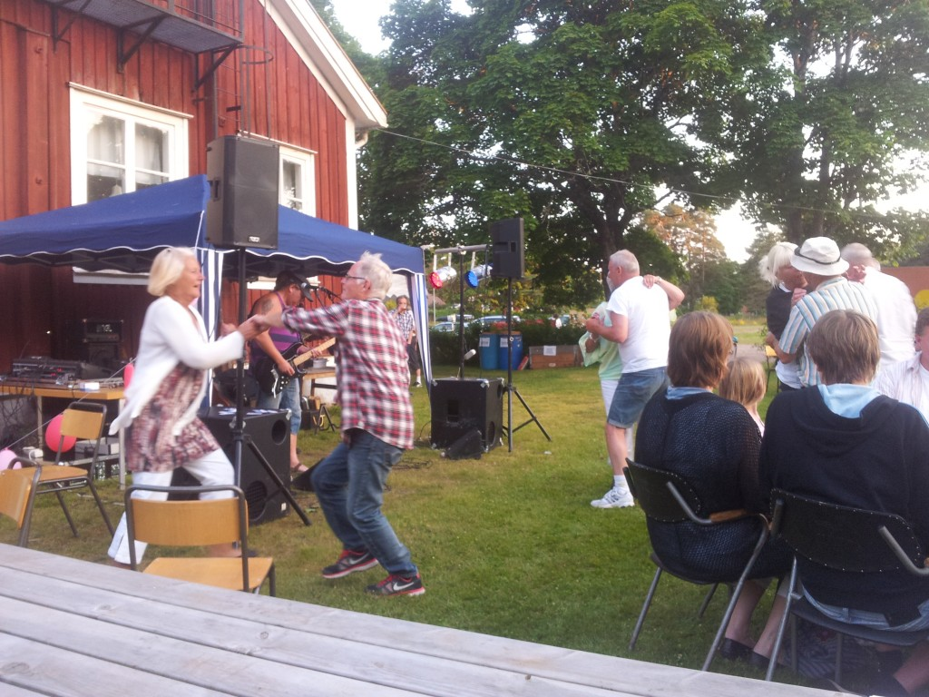 Dans på Nybble grillfest 2013