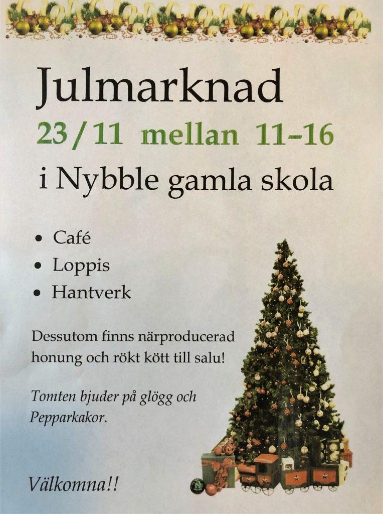 Julmarknad i Nybble